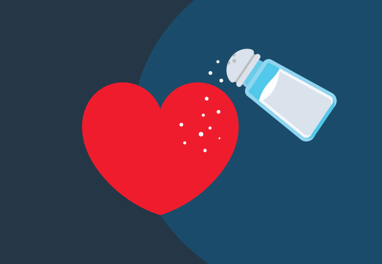 physical signs you're taking in too much salt